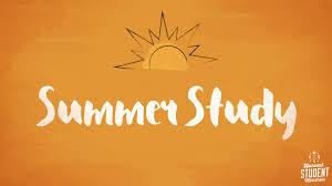 Risultati immagini per summer study