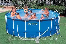 Чаша ПВХ для каркасного бассейна 457х122 см, <b>INTEX</b>