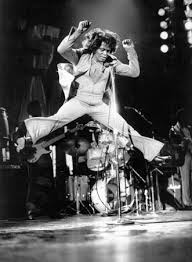 Image result for pictures of James Brown doing toe touch jumps