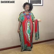 <b>Dashikiage New</b> Arrival Women's <b>100</b>% <b>Cotton</b> African Print Dashiki ...