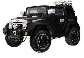 <b>Детский электромобиль Jiajia</b> Beach Jeep 12V (черный) - JJ235A-B