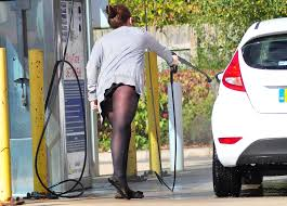 Sexy Girl Cleaning Car In Opaque Tights Pantyhose And Ve… Flickr ...