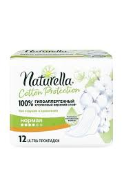 <b>Прокладки</b> NATURELLA <b>Cotton Protection</b> Normal Single | Watsons