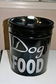 Galvanized dog food container. I bought one at Rural King. Love ...