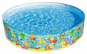 Детский <b>бассейн Intex</b> Ocean... — купить по выгодной цене на ...