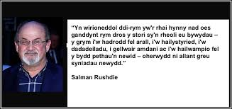 Salman Rushdie Quote - Hearing Voices Network Cymru