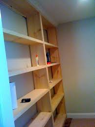 diy built in bookcase home office redesign build home office home office diy