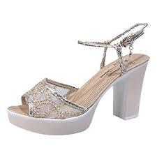 Voberry shoes <b>Women's Buckle</b> Sandals Summer Sequins Mesh ...