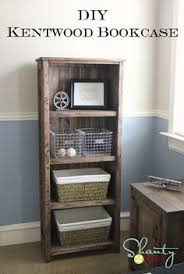 diy furniture plan from ana whitecom how to build a rustic wood bookshelf free plans shopping list cut list and real photos to help you build your own build your own wood furniture