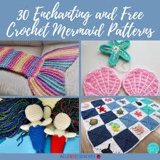 30 Enchanting and Free <b>Crochet Mermaid</b> Patterns | <b>AllFreeCrochet</b> ...