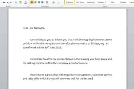 free sample of resignation letters   updig absolut resumeresign letter resignation sample how write