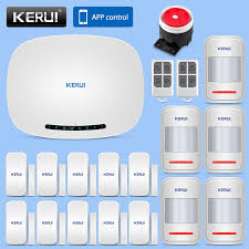 KERUI Wireless GSM Security Alarm System <b>433MHz IOS</b>/<b>Android</b> ...