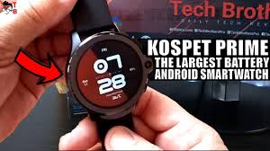 <b>KOSPET Prime</b> PREVIEW: Face Unlock? REALLY? - YouTube
