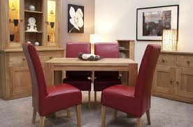 chunky dining table and chairs modern high back dining chairs natural cherry handmade in