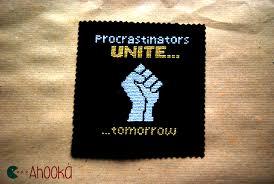 Cross stitch meme : procrastinators unite by Ahookamigurumi on ... via Relatably.com
