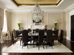 Dining Room Chandeliers Traditional Crystal Chandelier For Dining Room Organza Silk Drum Shade Crystal