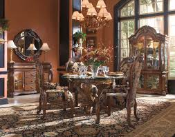 Formal Round Dining Room Sets Fabulous Luxury Formal Round Dining Room Sets On Expensive Dining