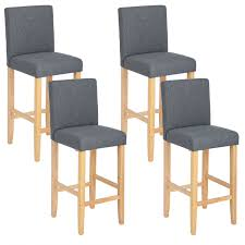 WOLTU <b>Bar Stools</b> Set of <b>4 pcs for</b> Breakf- Buy Online in Suriname ...