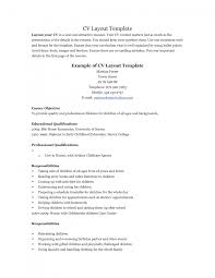 st line support cv template best resume layout samples good why