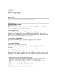 cover letter journalist resume sample sample resume for journalism cover letter lance work on resume sample unforgettable remote software simple for writing job experience and