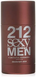 <b>Carolina Herrera 212 Sexy</b> Men Deodorant Stick, 75 ml: Amazon.co ...