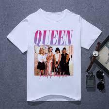 <b>Queen Band</b> T Shirt Men <b>Printing</b> FREDDIE MERCURY T shirt ...