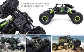 Buy Zest <b>4</b> toyz 2.4Ghz 1/18 RC Rock Crawler Vehicle Buggy Car <b>4</b> ...