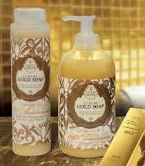 Роскошное <b>жидкое мыло</b> для рук и тела Юбилейное Золотое ...