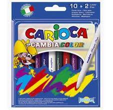 <b>Фломастеры Carioca Фломастеры</b> Magi <b>9</b> цветов и 1 волшебный ...