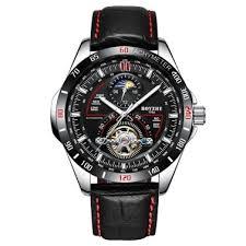<b>BOYZHE</b> WL019-G Business <b>Men Automatic Mechanical</b> Watch ...