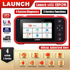 <b>LAUNCH X431 CRP129i</b> OBD2 Scanner Engine ABS SRS Oil ...