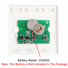 QIACHIP 433MHZ 86 <b>Wall Panel Wireless Remote</b> Control ...