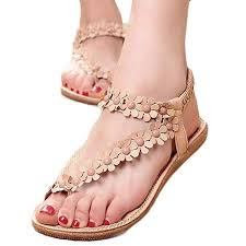 Han Shi Bohemia Women Sandals Summer Fashion ... - Amazon.com