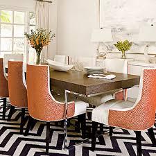 orange dining room chairs  orange dining room chairs