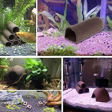 Leoie <b>Fish Tank</b> Cave <b>Aquarium Shelter Ceramic</b> Shrimp Spawn ...