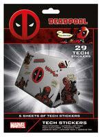 «Наклейки Deadpool (Merc With A Mouth) Tech Sticker Pack ...