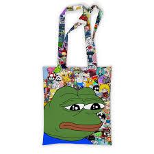 """Сумка с полной запечаткой """"<b>Pepe</b> Frog"""" #2034554 от Jimmy Flash ..."""