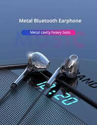 <b>EARDECO</b> Metal Heavy Bass <b>Bluetooth Earphone</b> Wireless ...