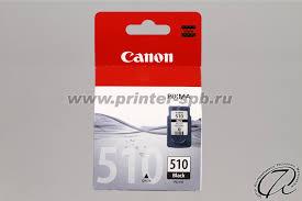 <b>Картридж PG</b>-<b>510</b> black/черный   <b>Canon 2970B001AA</b>