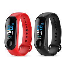 M2 <b>M3 Waterproof</b> Smart Sport Watch Wristband OLED Touchpad ...