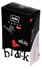 Купить <b>Прокладки</b> ежедневные <b>Bella Panty</b> slim black and white ...