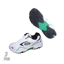 HS 4 Star Cricket <b>Shoes</b>-Green : Buy Online At Best Prices In ...