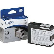 <b>Epson T5801 Black</b> Ink Cartridge, Standard (C13T580100)   Quill.com