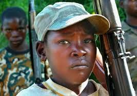 Risultati immagini per bambini soldato