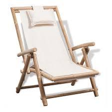 Chaise de terrasse d'exterieur Bambou - ASUPERMALL | <b>Deck</b> ...