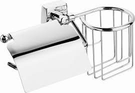 <b>Держатель</b> для <b>туалетной бумаги Fora</b> Keiz, K045, серебристый
