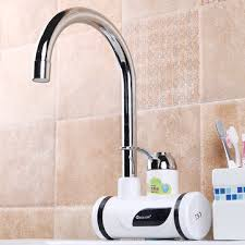 220v <b>digital display instant heating</b> electric water heater faucet tap ...