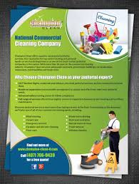flyer design for kristen mccullough by esolz technologies design flyer design by esolz technologies for national commercial cleaning company seeks top notch design to