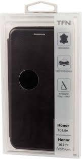 <b>Чехол</b>-<b>книжка TFN Honor 10</b> Lite Black