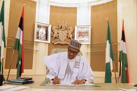 buhari finally resumes work after days photos daily post a change of the presidential guards brigade holds every monday